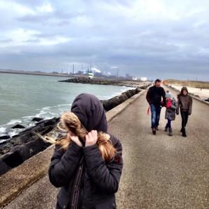 hoogovens at the pier