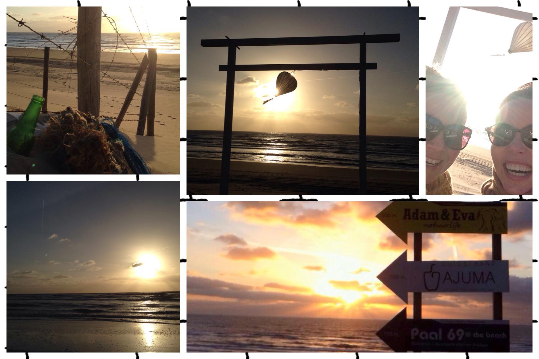 Ajuma zonsondergang