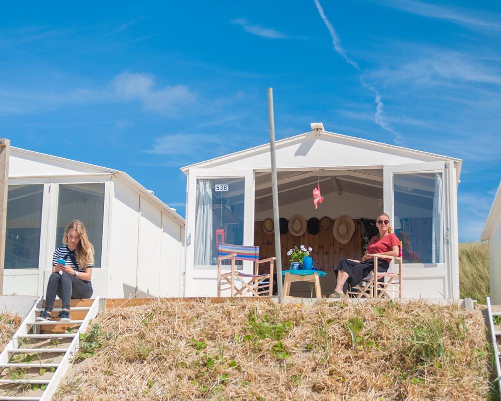 strandhuisje bij Bloemendaal Zandvoort
