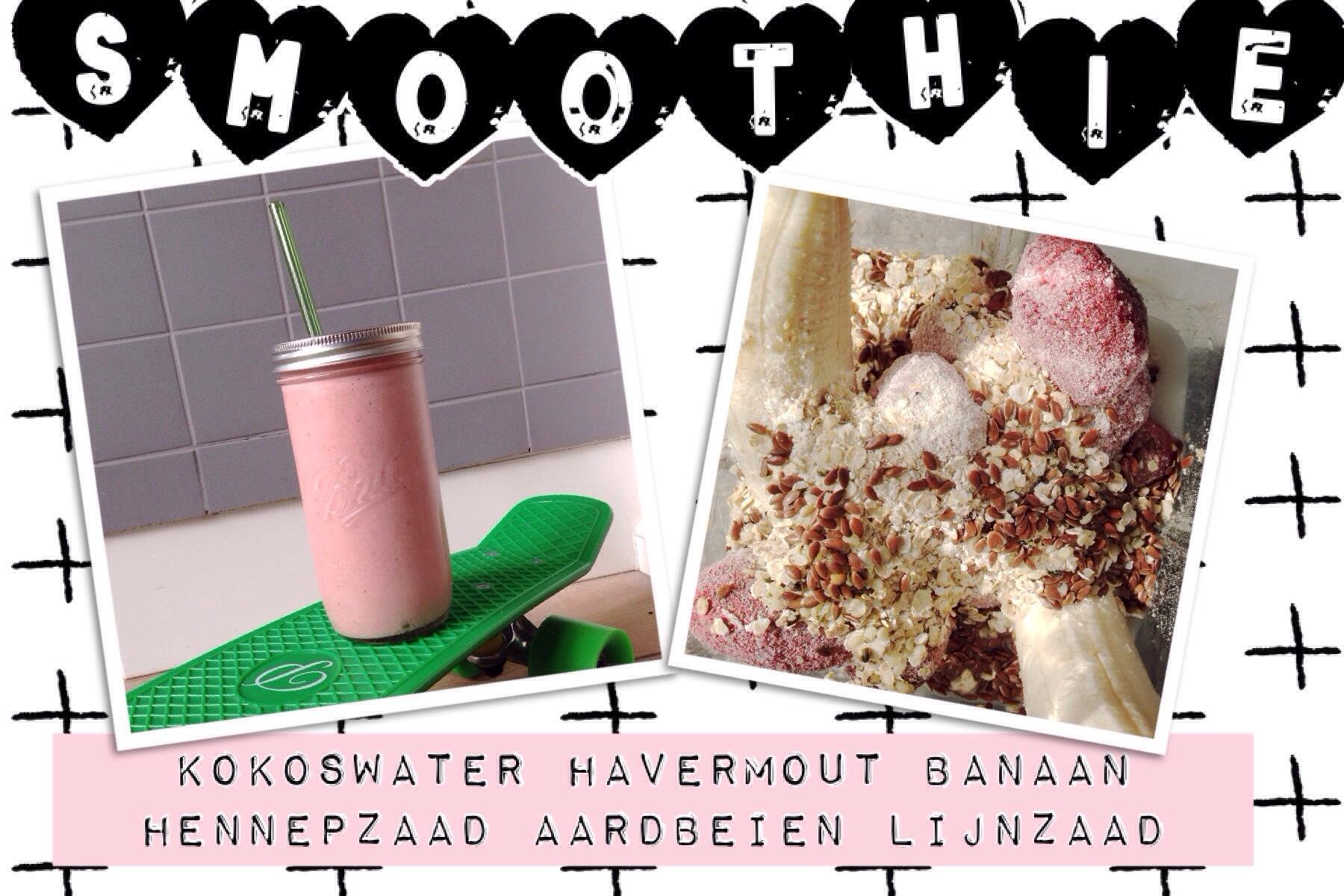 smoothie kokoswater