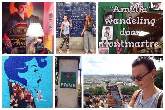 Amelie wandeling Parijs