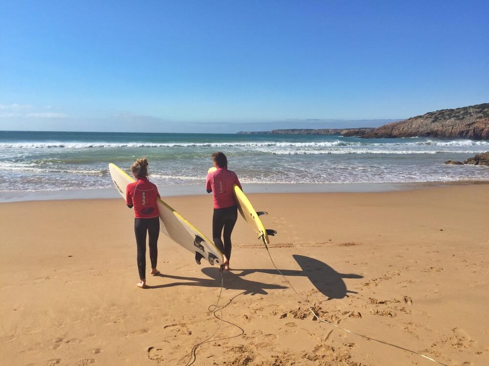 surfen bij Martinhal