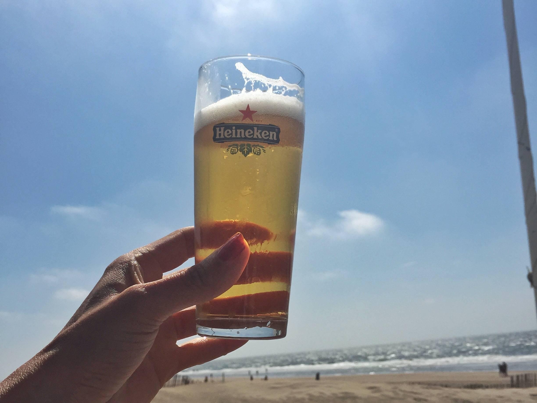 biertje aan Zee