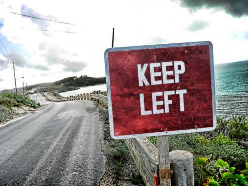 tips voor links rijden in Ierland