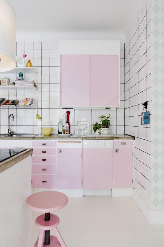 Goedkope keukenmetamorfose volgens laatste trends zal ik one hand in my pocket - Tegelwand idee keuken ...