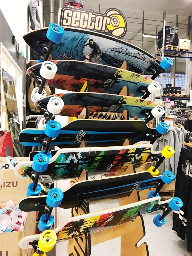 sample sale longboards