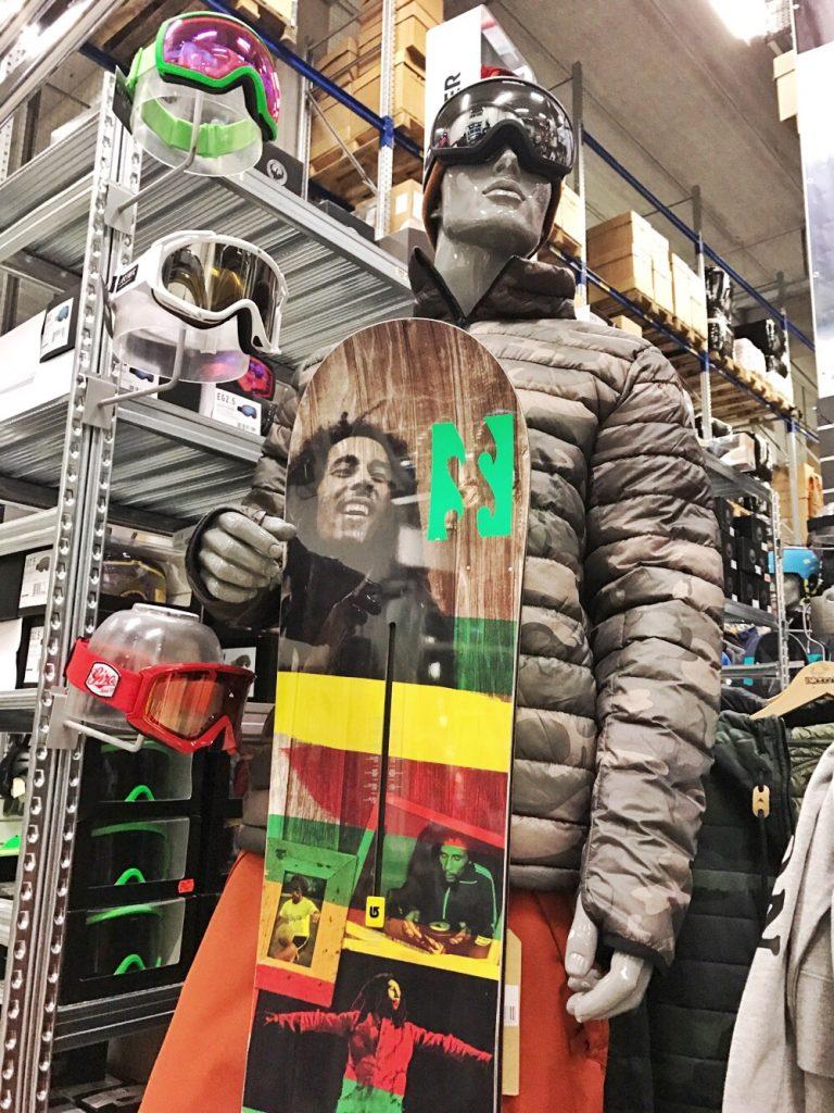 Sample sale wintersportkleding