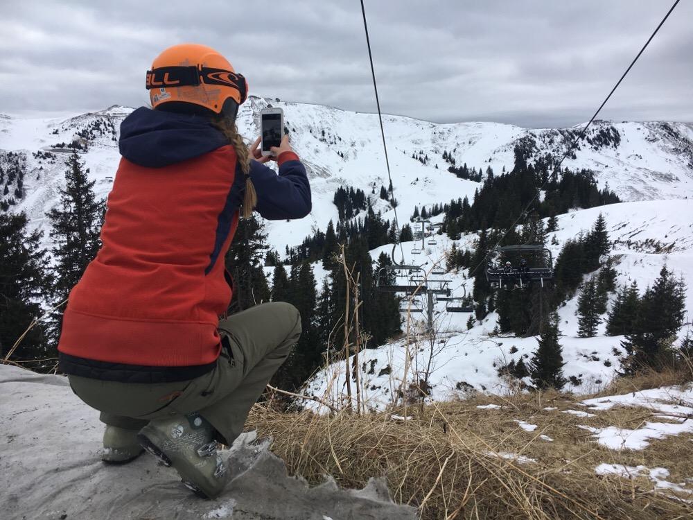 Libelle vlogger wintersport