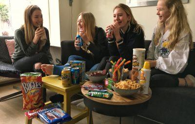 Amerikaanse snacks en film