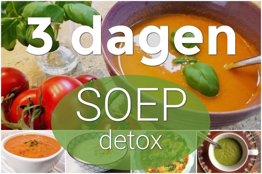 3 daagse soep detox