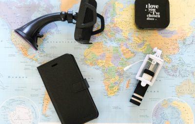 roadtrip accessoires voor mobiel