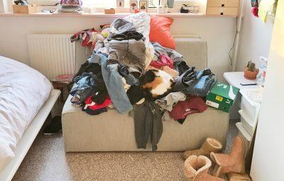 kleding opruimen