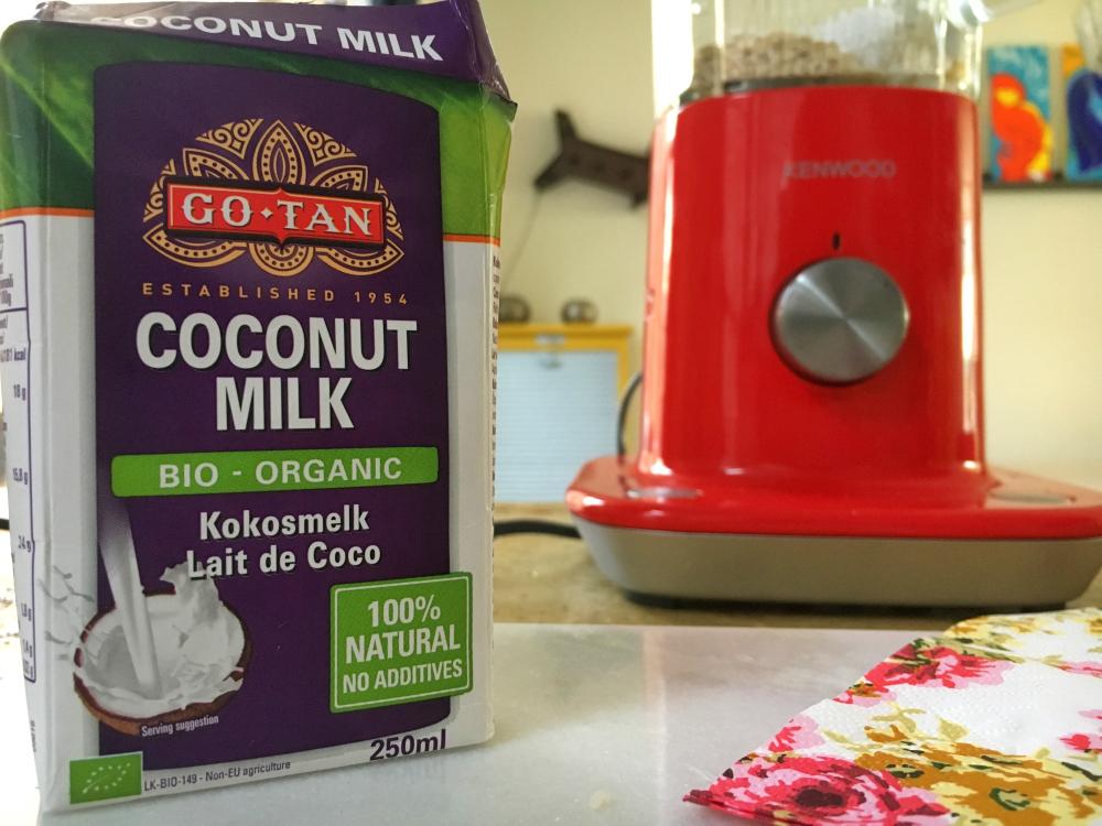 Kokosmelk zonder toevoegingen