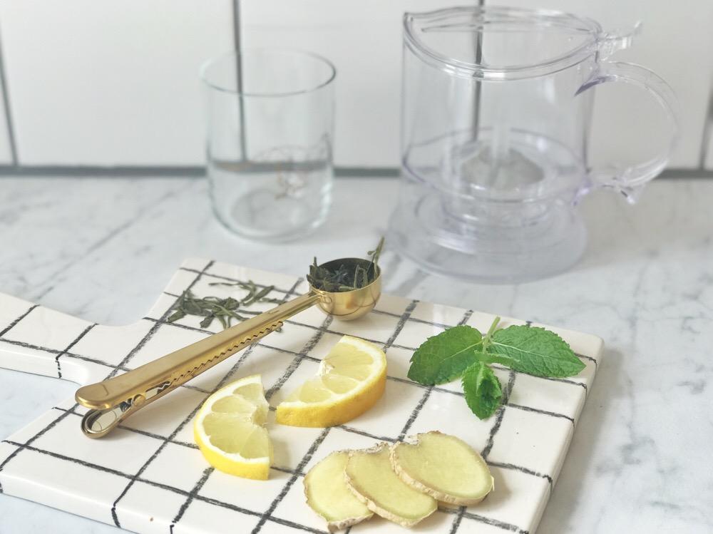 ingrediënten energy tea