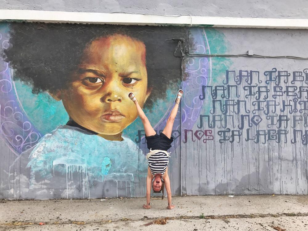 Garrick Marchena - streetart Curacao