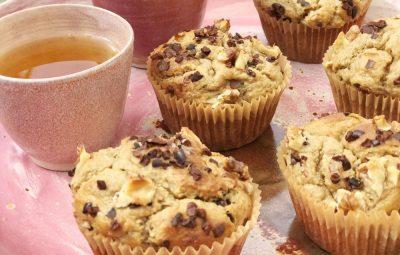 muffins van havermout met banaan