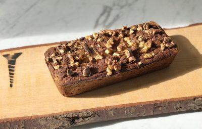 recept voor bananenbrood met walnoten