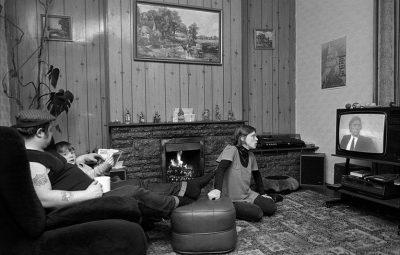 TV kijken in de eighties