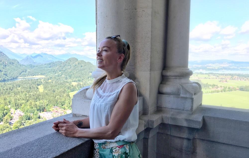 uitzicht Neuschwanstein