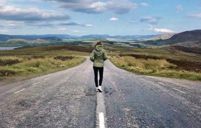 road trip Loch Ness Scotland