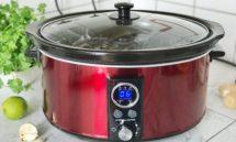 Winnen: een rode slowcooker (6,5 liter)