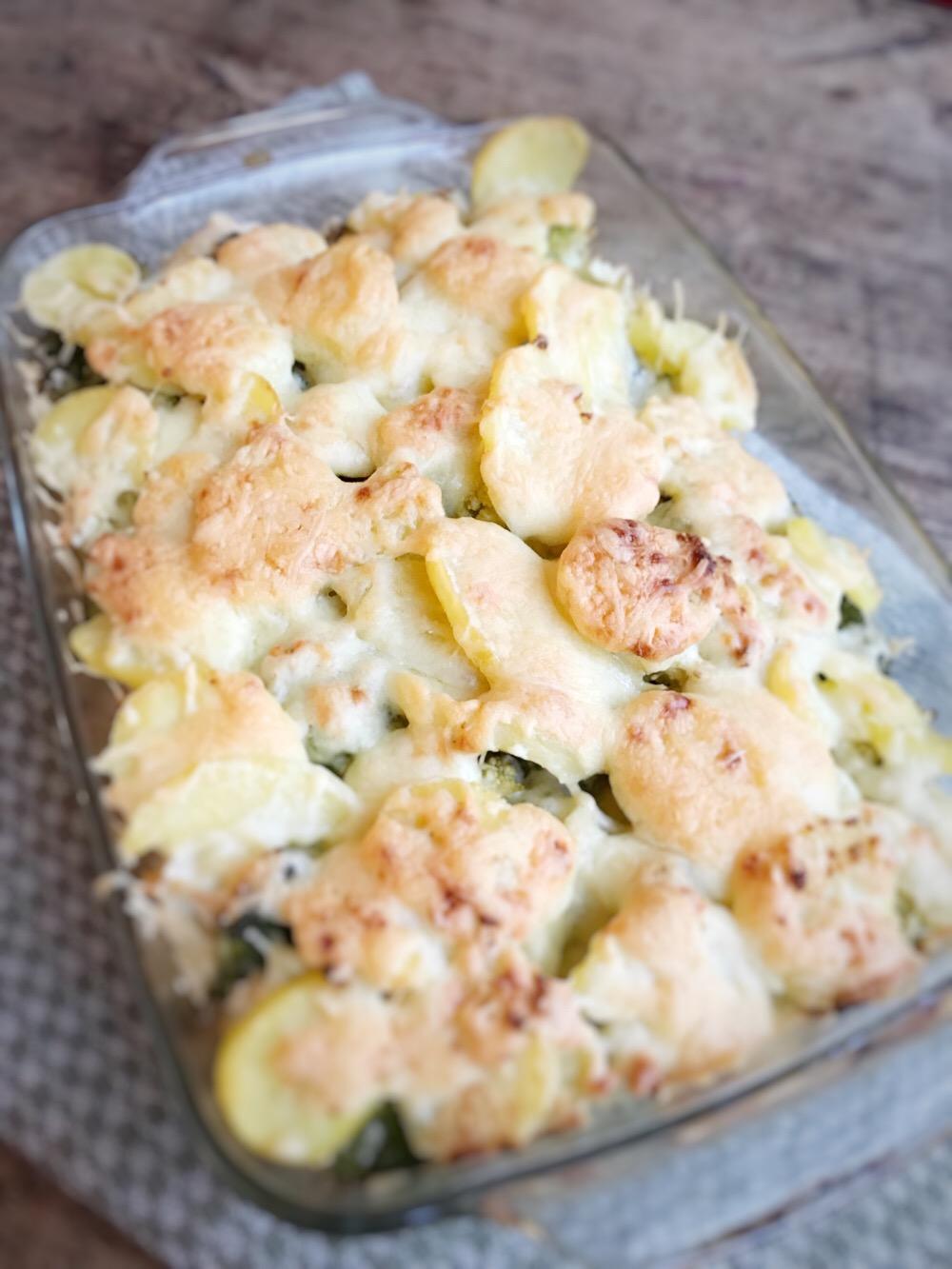 ovenschotel met kip en broccoli