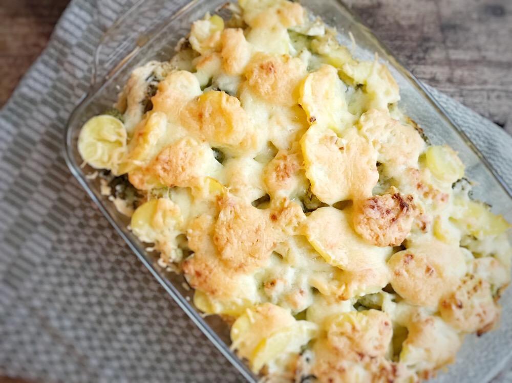 recept voor de winter: ovenschotel met kip en broccoli