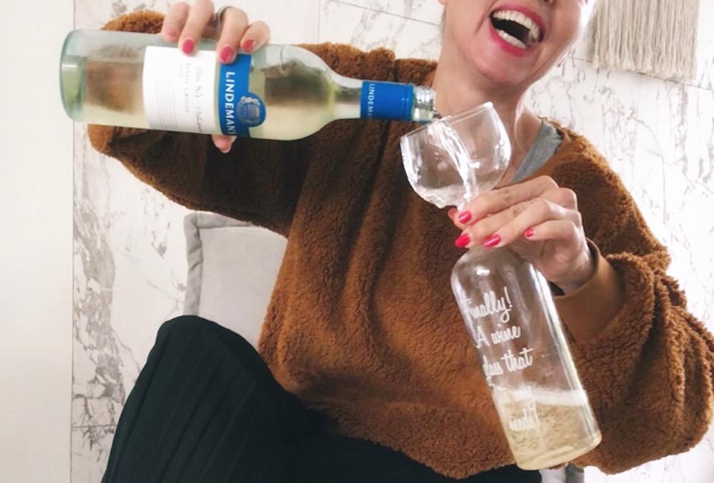 wijnfles glas winnen