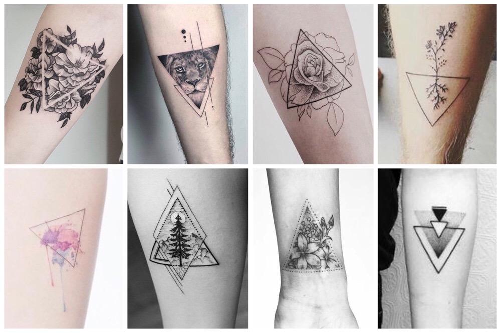 De allermooiste driehoek tattoos en hun betekenis