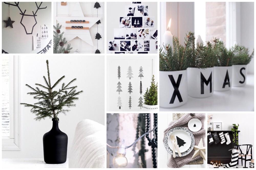 Zwart Wit Kerstdecoraties : 15x inspiratie voor de zwart wit kersttrend one hand in my pocket