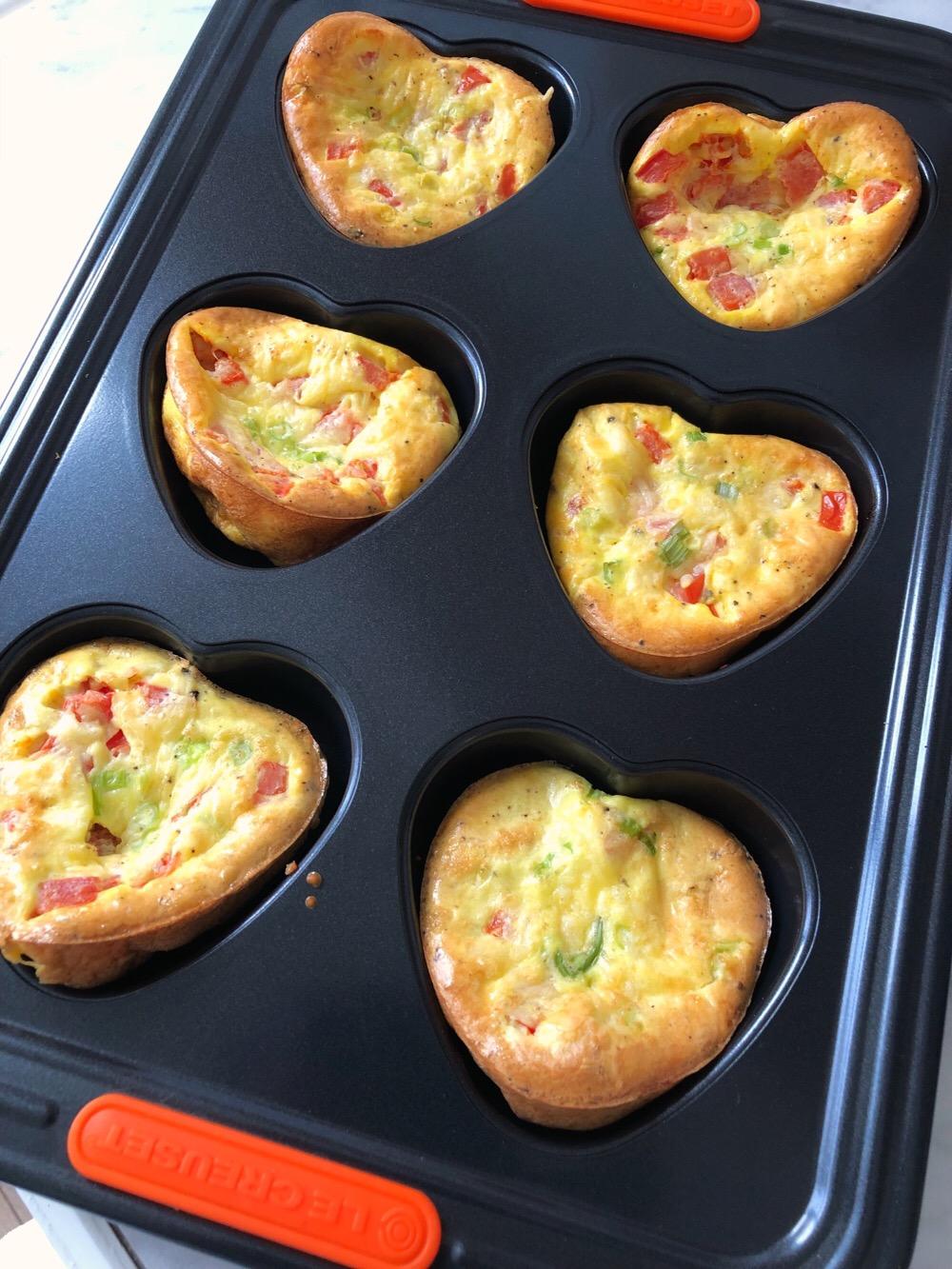 recept voor ei muffins