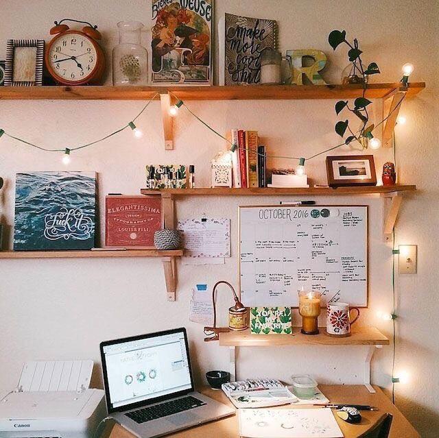 1000 Images About Home Office On Pinterest: 12x Lichtsnoer Inspiratie (+ Win Een Witte Van Deens.nl