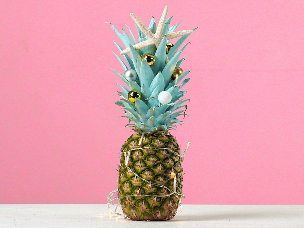 kerstboom van een ananas