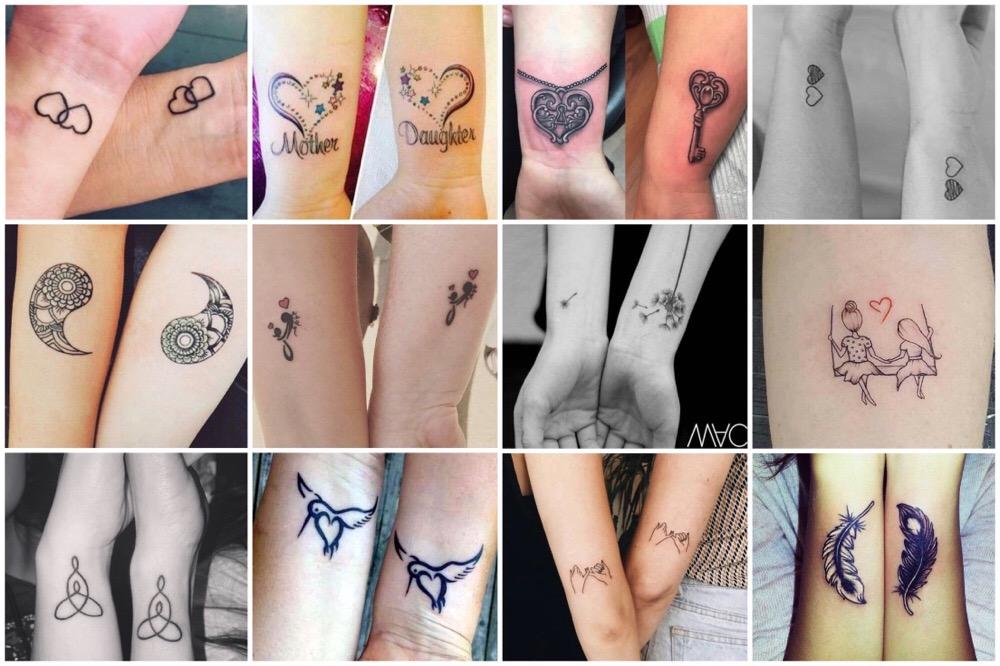 moeder dochter tattoos