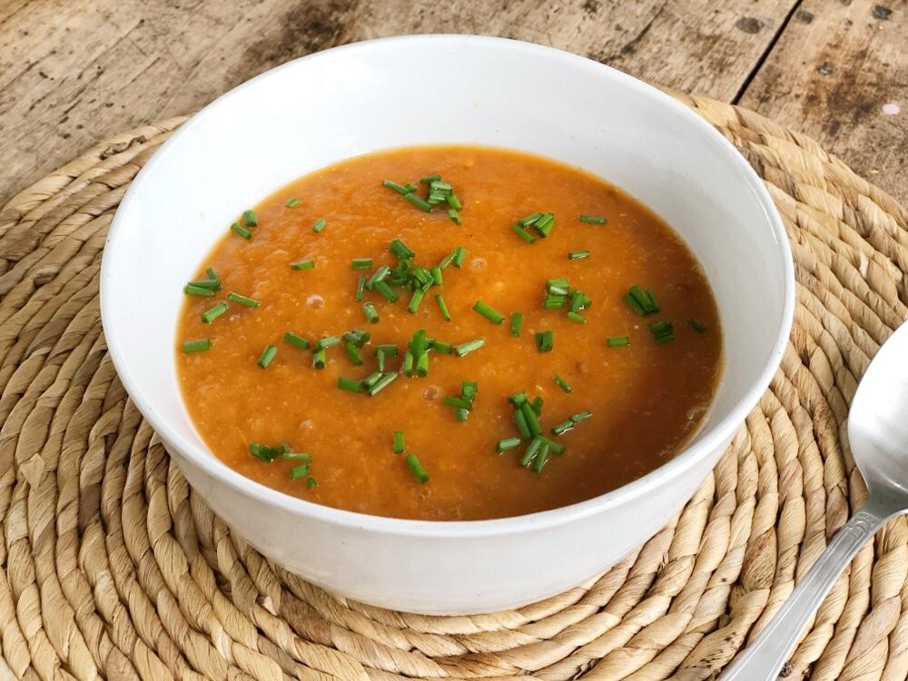 slowcookerrecept voor tomatensoep