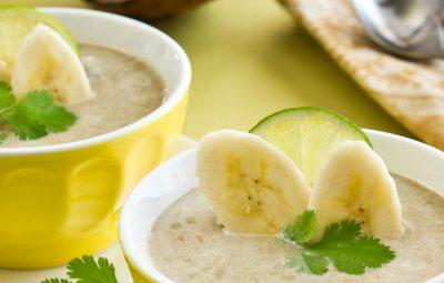slowcookerrecept voor bananensoep