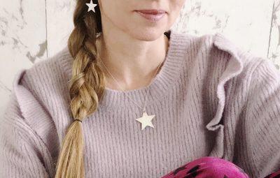 kaschka ketting en oorbellen met ster