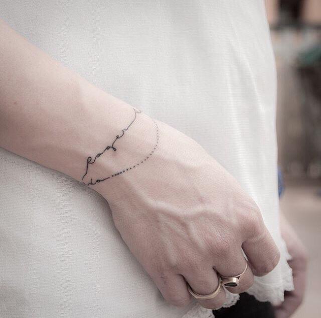 30x De Allerleukste Armband Tattoos One Hand In My Pocket