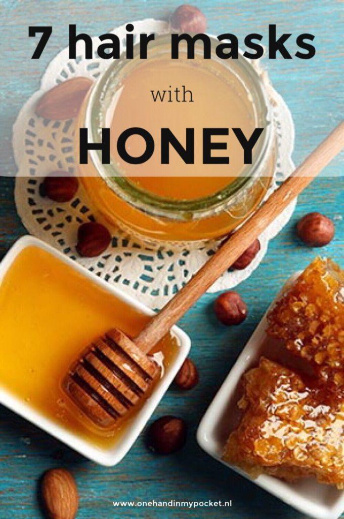 7 haarmaskers met honing