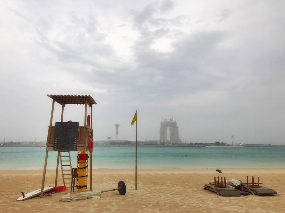 Op vakantie naar Abu Dhabi