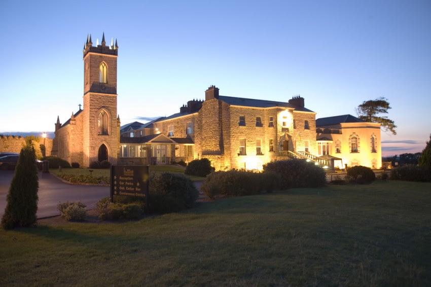 Vijfsterren hotel Glenlo Abbey in graafschap Galway