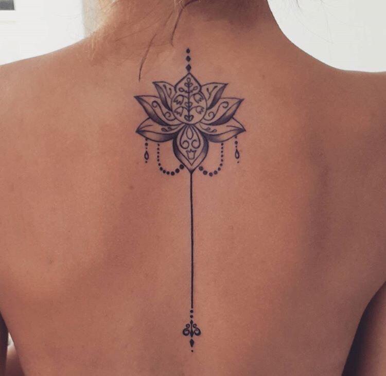 Wat Betekent De Unalome Lotus Tattoo 20 Prachtige