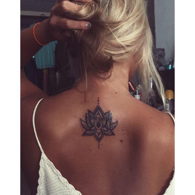 Unalome lotus tattoo inspiration