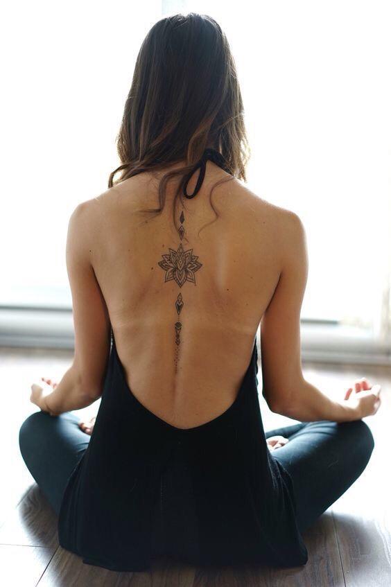 yoga tattoos