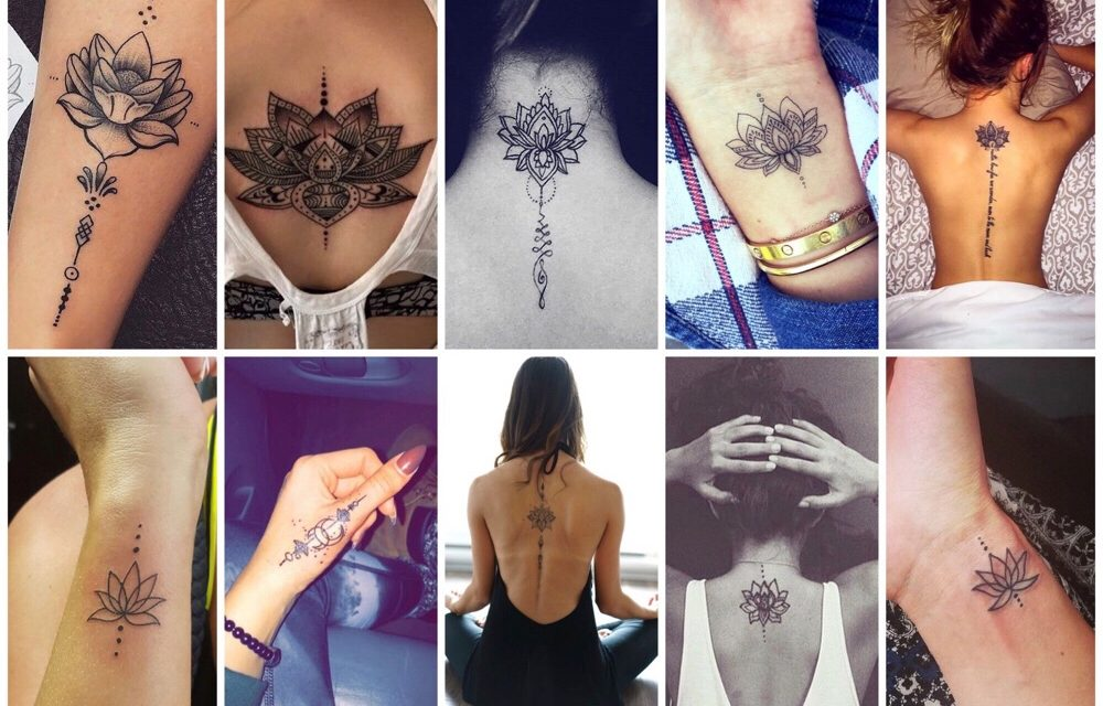 Wat betekent de unalome lotus tattoo? (+ 20 prachtige voorbeelden)