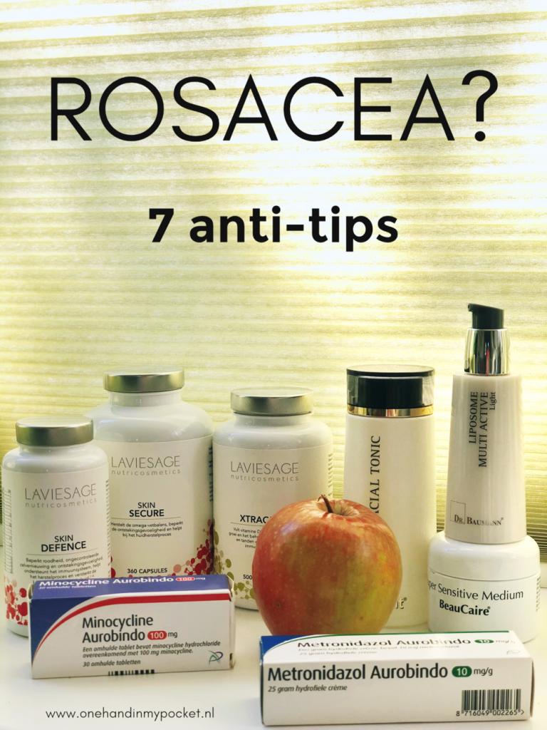 7 tips tegen Rosacea