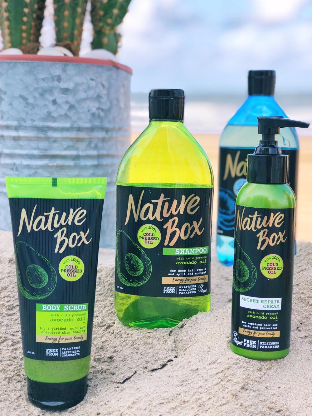 Nature Box avocado-olie