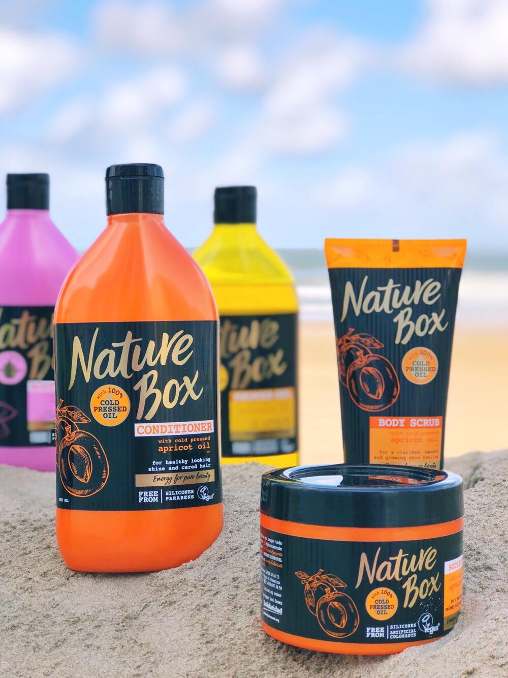 Nature Box abrikozenolie