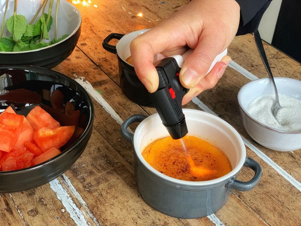 papaya creme brulee branden