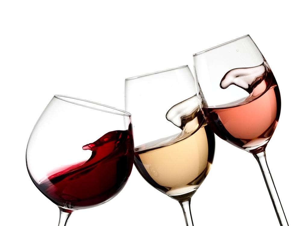 verschil tussen rode en witte wijnglazen